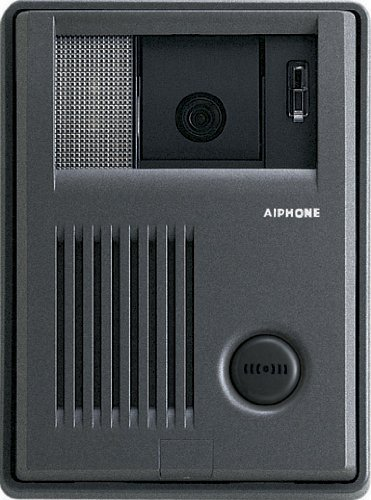 (Aiphone Corporation KB-DAR-M Video DoorStation for KB Series, Handset Video Intercom with Motion Detector Interface, ABS Plastic Construction, 4-1/8