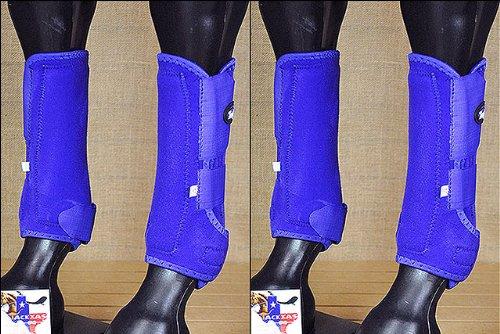 F10 LRG TOUGH1 FRONT REAR LEG EXTREME VENTED SPORTS MEDICINE HORSE SPLINT BOOTS by Tough 1