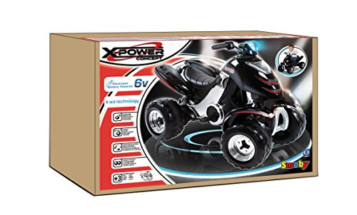 Smoby 33050 -  Elektronisches X-Power Quad Carbone