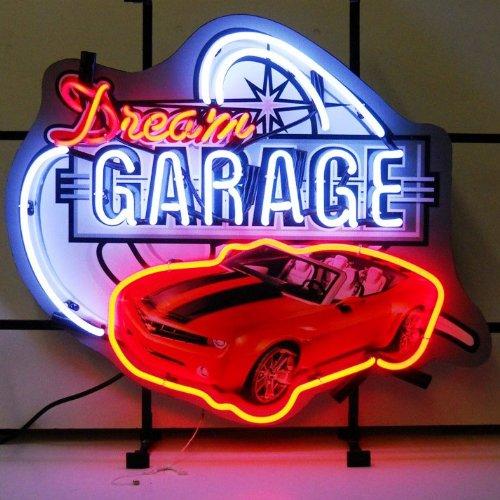 Sculpture Motorcycle Neon - Neonetics 5DGCAM Car and Motorcycles Dream Garage Camaro Neon Sign