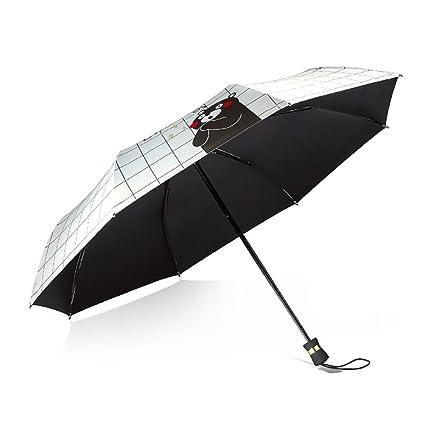 XUXUEPING Paraguas, Paraguas, Sombrilla, Sombrilla, Paraguas de protección UV Mango Recto Manual