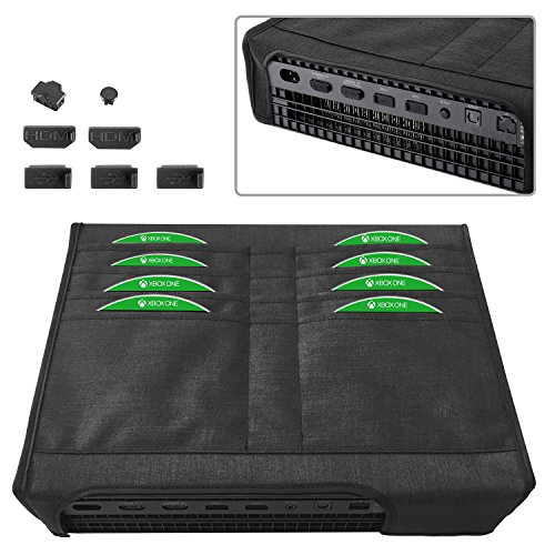 Moko Xbox One X Dust Cover Set, [7 Pieces] Dustproof for sale  Delivered anywhere in Canada