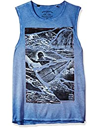 Men's Tapit Sleeveless Muscle Graphic Tank Top
