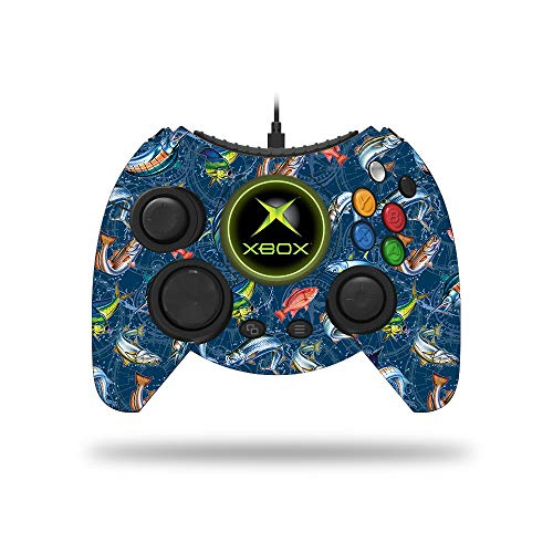 MightySkins Skin Compatible with Microsoft Xbox One Hyperkin Duke Controller - Saltwater Compass | Protective, Durable, and Unique Vinyl Decal wrap Cover | Easy to Apply and Remove | Made in The USA