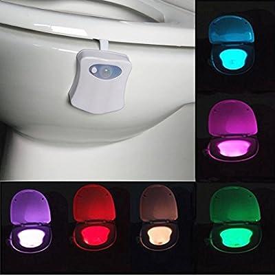 Amazon.com: Luz nocturna automática: 8 colores, Tuscom ...