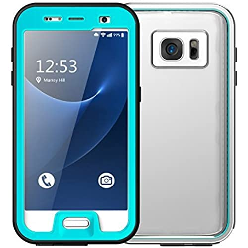 Galaxy S7 Waterproof Case, Vcloo 9.8tf(3M) Galaxy S7 Waterproof Case, Dust Proof, Snow Proof, Shock Proof, Duty Protective Cover, Ultra Slim Tight Sales