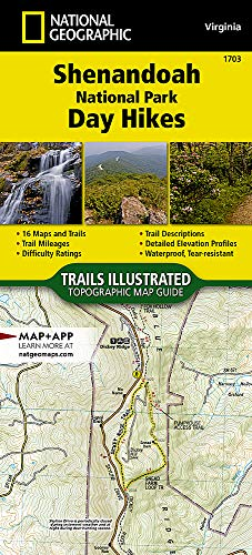 Shenandoah National Park Day Hikes (National Geographic Topographic Map Guide (1703))