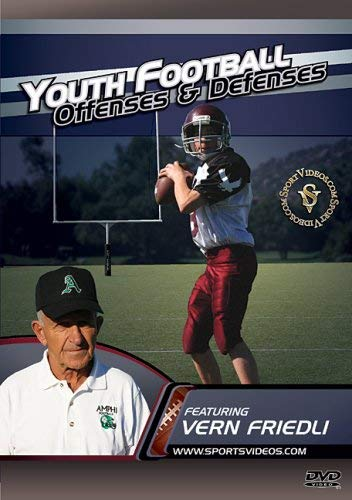 Youth Football Offenses and Defenses DVD featuring Coach Vern Friedli ()