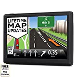Electronics : HighSound 7 inch 8GB Navigation System for Cars, Car GPS Spoken Turn- to-turn Traffic Alert Vehicle GPS Navigator, Lifetime Map Updates