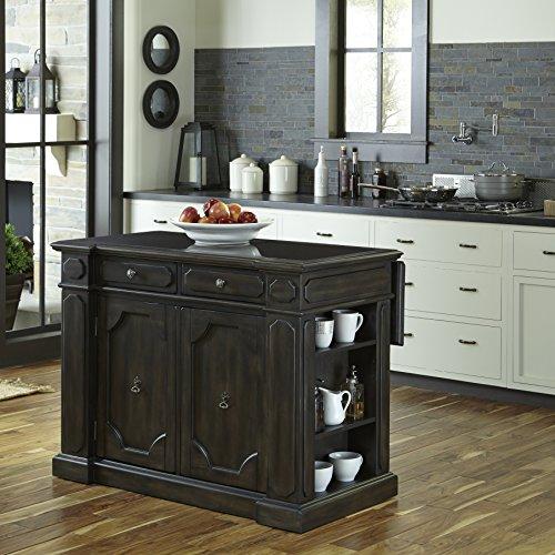 Home Styles 5077-94G Hacienda Granite Inset Top Kitchen Island ()