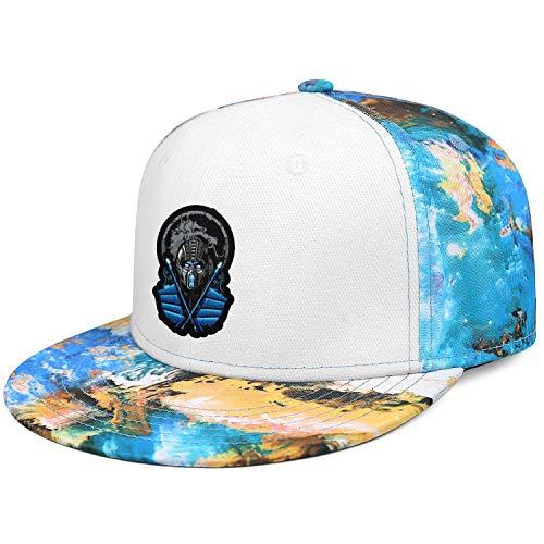 Subzero-Mortal-Kombat- Hats Unisex Visor Hats Cool