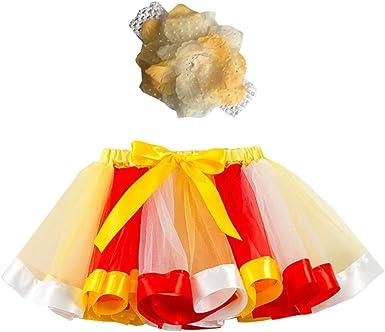 Falda Tul para Niñas Falda de Fiesta de Baile de Ballet de Danza ...