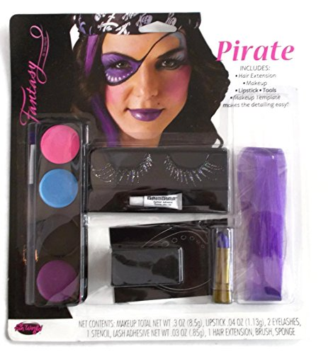 Lady Pirate Makeup (Glam Makeup Kit (Pirate))