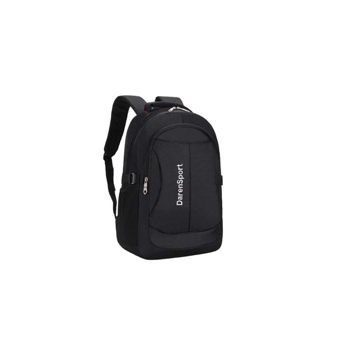 Simple Large Capacity Outdoor Sports Backpack, Laptop Backpack, Black (color   Black)