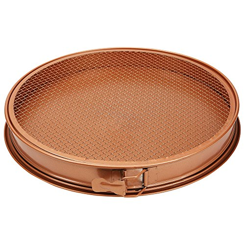 Copper Chef Perfect Pizza And Crisper Pan 12 Quot Review Red