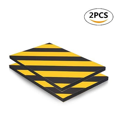 Protector de aparcamiento para coche, protector de esquina de advertencia de pared para garaje,