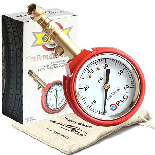 Professional Air Tire Pressure Gauge, 60 PSI, Best for Car, Motorcycle, Truck, SUV, ATV & RV - Mall Stores Victor