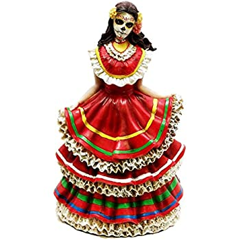 Amazon Com Day Of The Dead Skeleton Couple Holding Hands