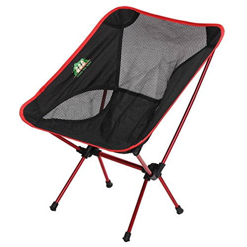 KING DO WAY Portable Ultralight Chair Compact Folding Chairs with Carry Bag for Camping/Fishing/Hiking/Picnic/Beach/Outdoor Sports