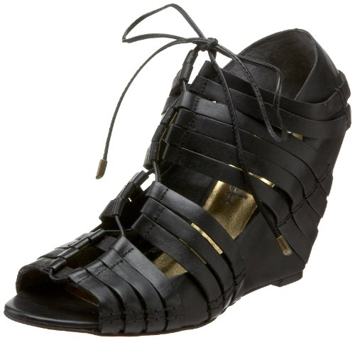 daniblack Women's Viviana Lace-Up Sandal