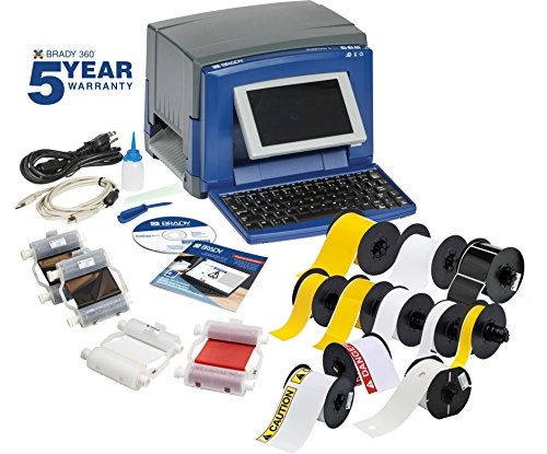 Brady Label Software - Brady S3100 Sign and Label Printer with Workstation SFID Software Suite Safety & Compliance Kit - S3100-GEN-KIT