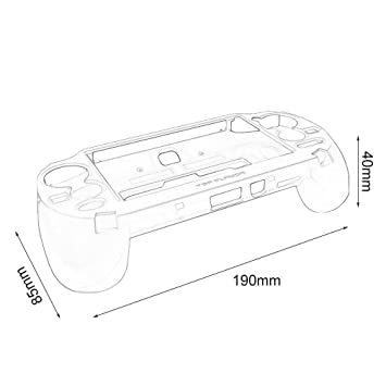 Amazon Com Gamepad Protective Case With L2 R2 Trigger For Sony Ps