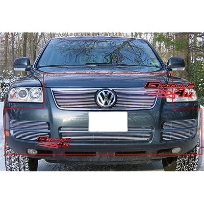 03-07 Volkswagen VW Touareg V6 Billet Grille Grill Combo Insert # V67846A