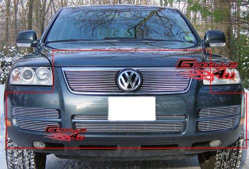 Cheap 03-07 Volkswagen VW Touareg V6 Billet Grille Grill Combo Insert # V67846A free shipping