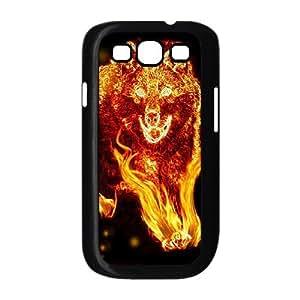 DIY High Quality Case for Samsung Galaxy S3 I9300, Fire Wolf Phone Case - HL-R662202