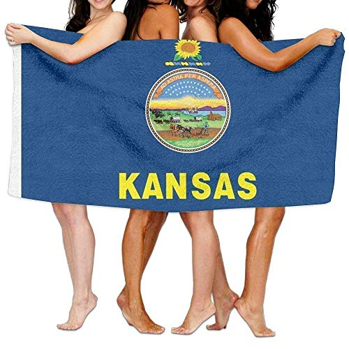 (Beach Towel Flag of Kansas 31