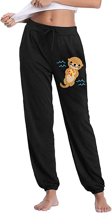 LazyOne Womens Sleep in the Dark Fitted PJ Trousers