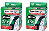 16 bike tire - Slime Smart Tube Schrader Valve Bicycle Tube (16 x 1.75-2.125), 2 Pack