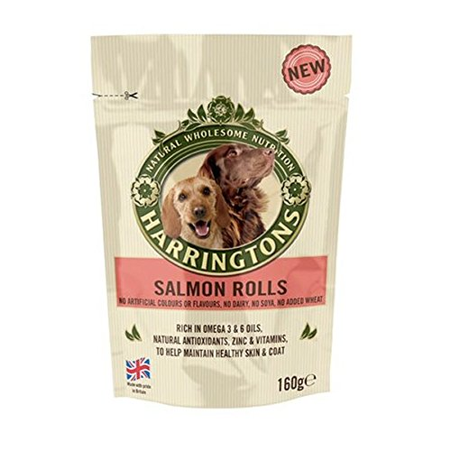 Harringtons Salmon Roll Treats 160G