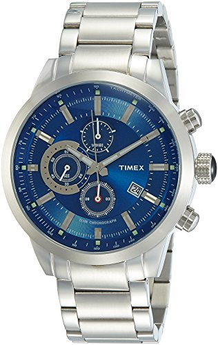 Timex E Class Analog Blue Dial Men #39;s Watch   TW000Y403
