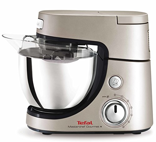 Tefal Masterchef Gourmet Plus QB602H38 19 Cups Food Processor with Pulse Speed Function, Silver
