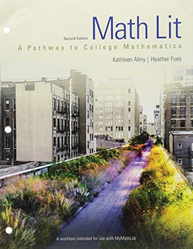Math Lit (2nd Edition)