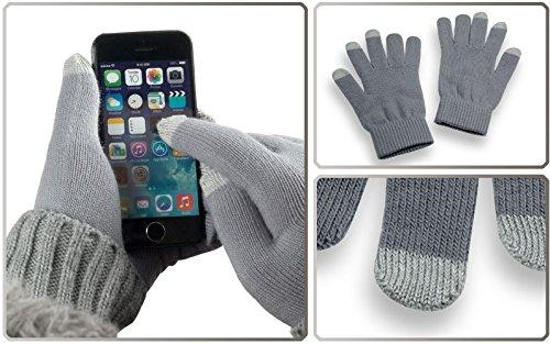 YaYago Gants écran tactile capacitif Taille universelle (env. M–L)–pour Lenovo phab 2Pro