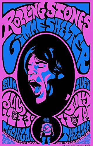 Rolling Stones Musician Concert Poster Rock And Roll Legends Live Forever 12 X 18