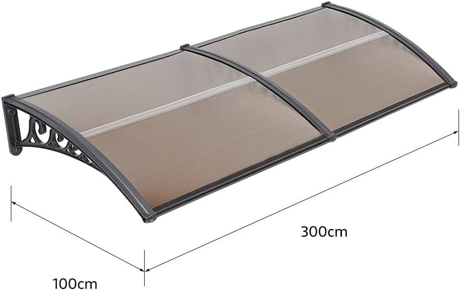 hohl Haust/ür Vordach,Pultvordach,PC-Platine 100 * 300 cm