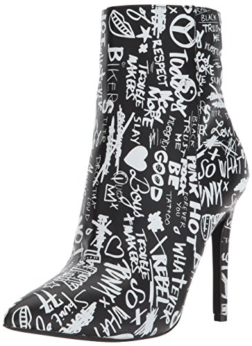 Black White Ankle Aldo Kearia Boot Women's wFqnIz7
