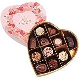 GODIVA 歌帝梵 至爱巧克力心形礼盒11颗装 125g(亚马逊自营商品, 由供应商配送)