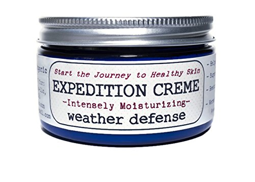 EXPEDITION CREME-USDA ORGANIC Multipurpose Intense Moisturizer & Anti-aging Cream for Face, Extreme, Dry Cracked & Peeling Hands & Itchy Skin Relief for Men, Women & Entire Family
