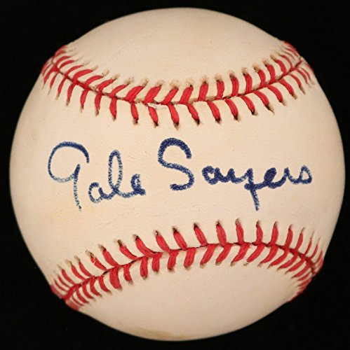 Gale Sayers Bears HOF Signed ONL Baseball - COA - JSA Certified - NFL Autographed Miscellaneous (Gale Sayers Autographed Bears)