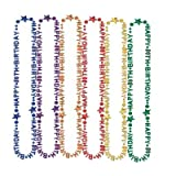 """Happy """"70th"""" Birthday Beads-Of-Expression 36″ 1/Pkg, Health Care Stuffs"""