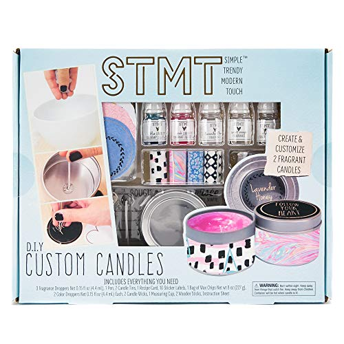 STMT DIY Custom Candles by Horizon Group USA, Assorted, Assorted Colors -