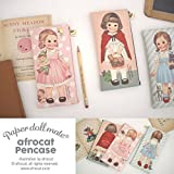 Afrocat Paper Doll Mate New Pen Case Storybook