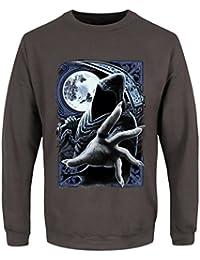 Men's Enslaved Reaper Sweatshirt Sweater Storm Grey