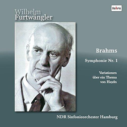 ブラームス : 交響曲 第1番 | ハイドンの集第による変奏曲 (Brahms : Symphonie Nr.1 | Variationen uber ein Thema von Haydn / Wilhelm Furtwangler | NDR Sinfonieorchester Hamburg) [2LP] [Limited Edition] [日本語帯・解説付] [Analog]
