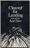 img - for Cleared for Landing by Ann Darr (1978-01-01) book / textbook / text book
