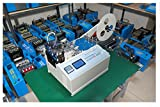 Hanchen Instrument EW-100RL Automatic Computer Hot and Cold Cutting Machine for Tube / Cable / Tape / Sheet / Film / silicone hose / PVC / Plastic hose / Cotton Yarn Max Temperature 400 ° C (220v)